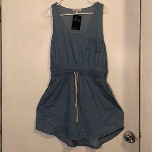 NWT denim dress